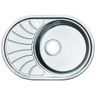 Мойка для кухни нержавеющая сталь полированная чаша справа Iddis Suno SUN65PRi77
