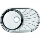 Мойка для кухни нержавеющая сталь полированная чаша слева Iddis Suno SUN77PLi77