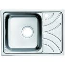 Мойка для кухни нержавеющая сталь полированная чаша слева Iddis Arro ARR60PLi77