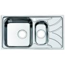 Мойка для кухни нержавеющая сталь шелк 1 1/2 чаша слева Iddis Arro ARR78SXi77