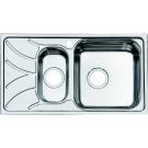 Мойка для кухни нержавеющая сталь шелк 1 1/2 чаша слева Iddis Arro ARR78SZi77