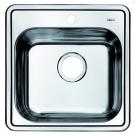 Мойка для кухни нержавеющая сталь шелк Iddis Strit STR48S0i77