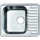 Мойка для кухни нержавеющая сталь полированная чаша справа Iddis Strit STR58PRi77