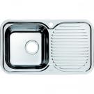 Мойка для кухни нержавеющая сталь полированная чаша слева Iddis Strit STR76PLi77