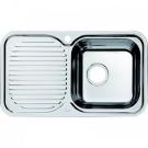 Мойка для кухни нержавеющая сталь полированная чаша справа Iddis Strit STR76PRi77