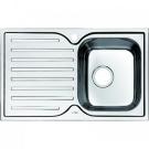 Мойка для кухни нержавеющая сталь полированная чаша справа Iddis Strit STR78PRi77