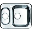 Мойка для кухни нержавеющая сталь шелк 1 1/2 чаша слева Iddis Strit STR60SXi77