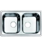 Мойка для кухни нержавеющая сталь полированная Iddis Strit STR78P2i77