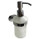 Дозатор для жидкого мыла матовое стекло сплав металлов Solomon Milardo SOLSMG0M46