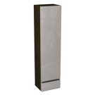 Пенал Domino боковой верхний правый 120x30x25 см капуччино/венге IFO 1241031150