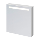 Зеркало-шкафчикMELAR 70 c подсветкой  Cersanit LS-MEL70-Os