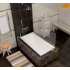 Cersanit LORENA 140x70 ванна акриловая без ножек