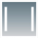 COMFORTY Зеркало Жасмин-85 с подсветкой