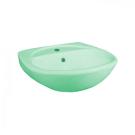 131112S0211B0 Умывальник Соната крап салатовый, 52 см, с 1 центральным отверстием Santeri