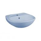 131112S0311B0 Умывальник Соната крап голубой, 52 см, с 1 центральным отверстием Santeri