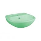 131112S0411B0 Умывальник Соната салатовый, 52 см, с 1 центральным отверстием Santeri