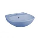 131112S0611B0 Умывальник Соната голубой, 52 см, с 1 центральным отверстием Santeri