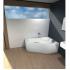Ванна акриловая Ибица XL 160х100 правая Santek