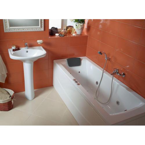 Ванна акриловая Монако 170х70 с гидромассажем Базовая Santek