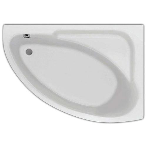 Ванна акриловая Гоа 150х100 правая с гидромассажем Базовая Santek
