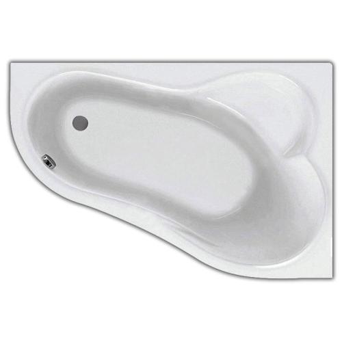 Ванна акриловая Ибица 150х100 правая с гидромассажем Базовая Плюс Santek