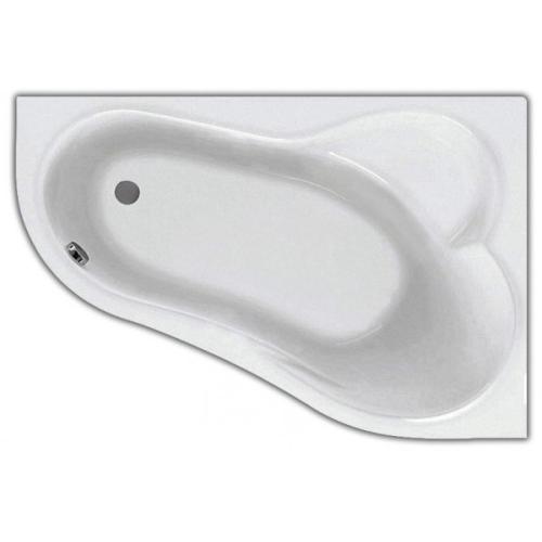 Ванна акриловая Ибица XL 160х100 правая с гидромассажем Комфорт Плюс Santek