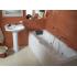 Ванна акриловая Монако 170х70 с гидромассажем Базовая Плюс Santek