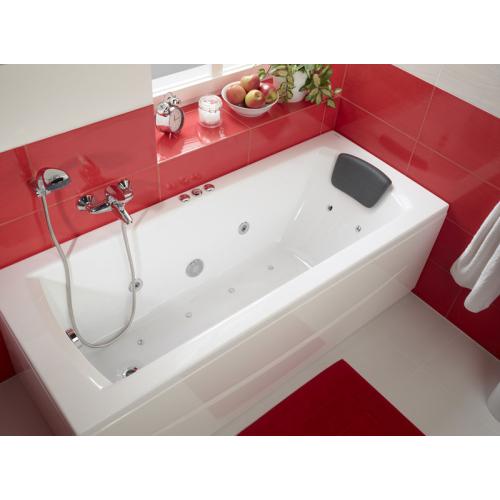 Ванна акриловая Монако 160х70 с гидромассажем Комфорт Плюс Santek