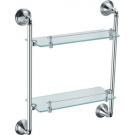 Fixsen FX-71622 Best Полка стеклянная 2-х этажная
