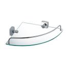 Fixsen FX-61303A Kvadro Полка стеклянная угловая