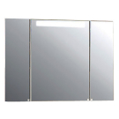Акватон Зеркало со шкафом Мадрид 120 1134-2 SV со светильником LLA 8W 390