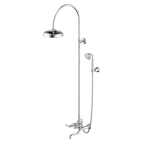 ART Душевая колонна со смесителем для ванны Bravat F65193CP-A1-RUS