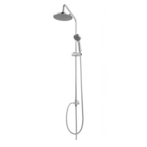 FIT R душевая колонна для душа без смесителя (верхний душ круглой формы) Bravat 7D283CP-2-RUS