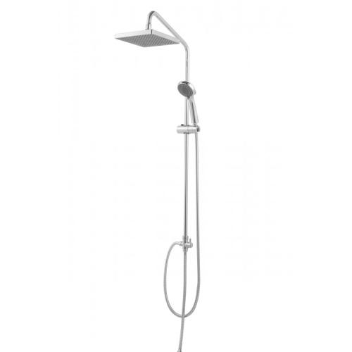 FIT S душевая колонна для душа без смесителя (верхний душ квадратной формы) Bravat 7D283CP-2A-RUS