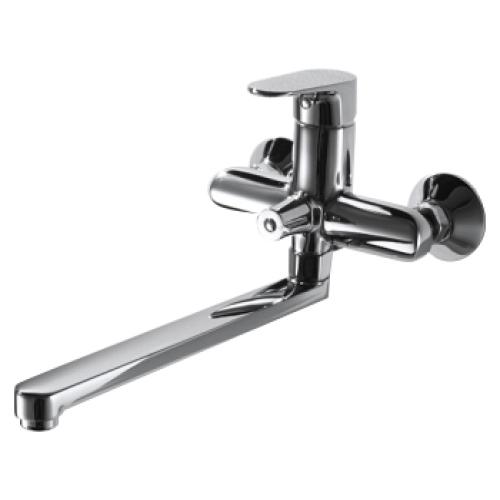 ALFA смеситель для ванны с длинным изливом Bravat F6120178CP-01L