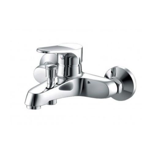 ECO cмеситель для ванны и душа с коротким изливом и душевой лейкой Bravat 7F6111147C-B