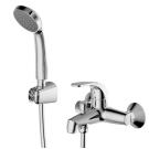 FIT cмеситель для ванны и душа с коротким изливом и душевой лейкой Bravat 7F6135188CP-B-RUS