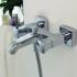 WHIRLPOOL смеситель для ванны с коротким изливом Bravat F678112C-01