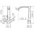 WHIRLPOOL смеситель для кухни Bravat F778112C