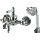 Bravat F675109C-B ART cмеситель для ванны и душа с коротким изливом и лейкой хром