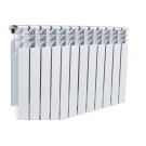 Heatex Радиатор алюминий 500/80 10 секций
