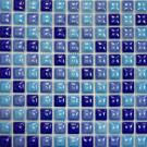 Elada Мозаика 25TC-BUM голубой микс Ceramic