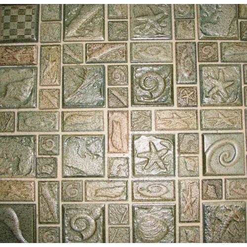 Elada Мозаика 48Н-109 коричневая морская фантазия Ceramic