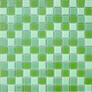 Elada Мозаика CB011 зеленый микс Crystal