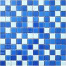 Elada Мозаика CB021 бело-синий Crystal