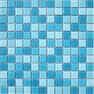 Elada Мозаика CB301 бело-голубой Crystal