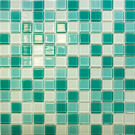 Elada Мозаика CB401 бирюзовый микс Crystal