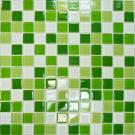 Elada Мозаика CB606 бело-зелёный микс Crystal