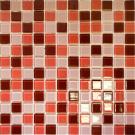Elada Мозаика CB908 шоколадно-малиновая Crystal