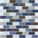 Elada Мозаика DM 103 серо-бежевая Crystal